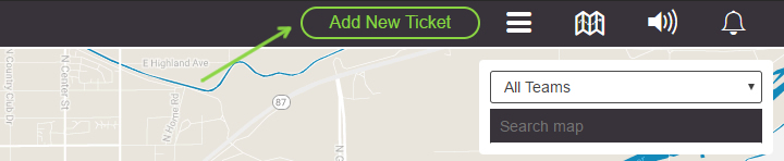 create new delivery ticket