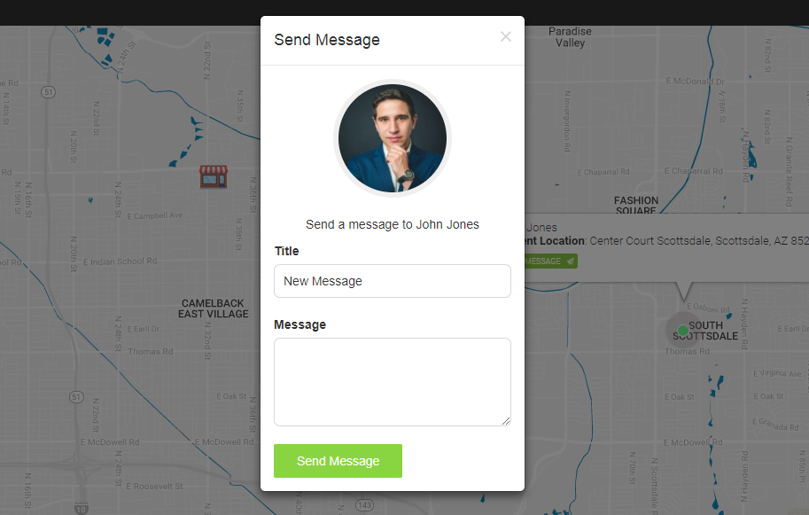 Send Messages to Your Delivery Drivers